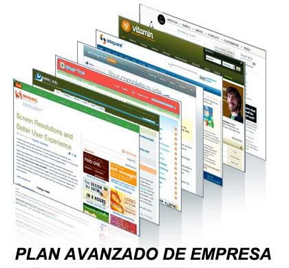 plan avanzado paginas web