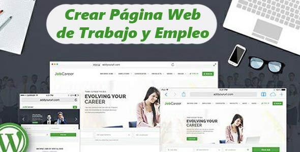 Crear p gina web de trabajo y empleo crearpaginaweb Crear website