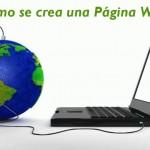 cómo se crea una página web