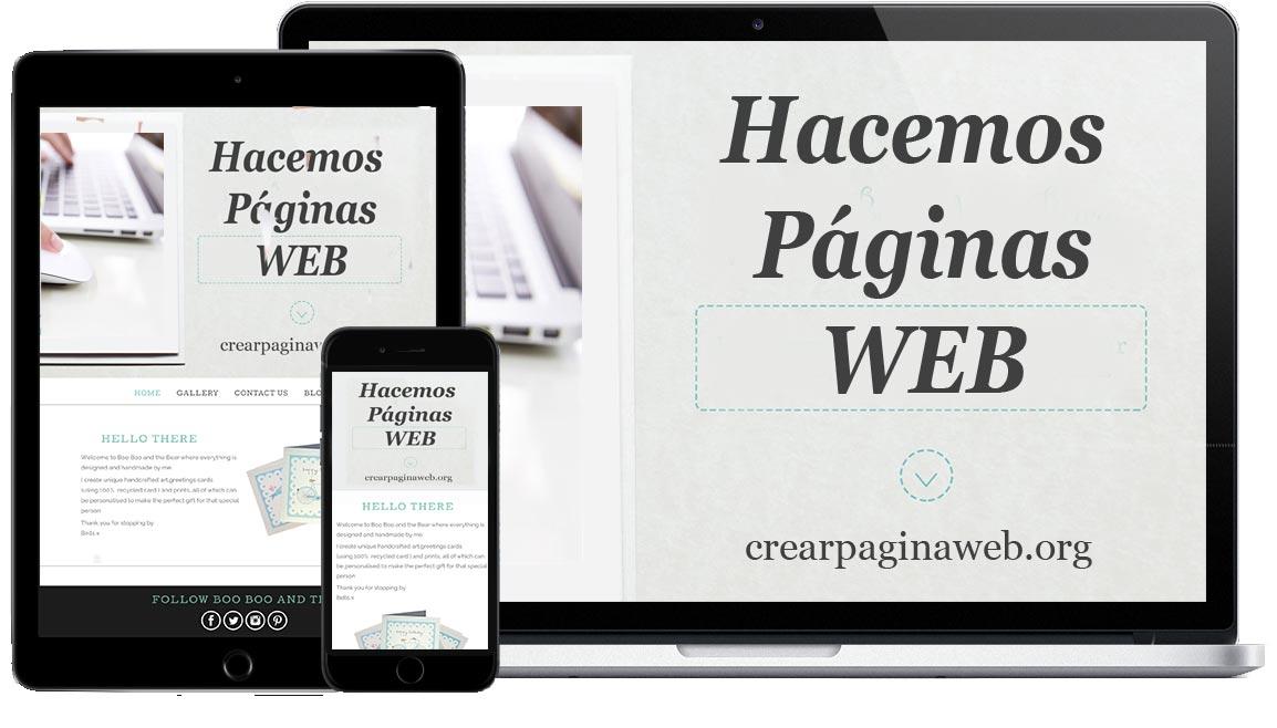 Crear una página web de negocios